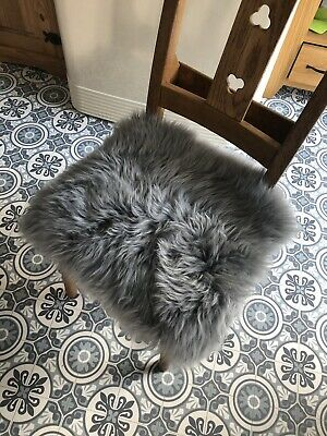 Real Genuine Sheepskin Seat Pad 37cm Square Any Colour!