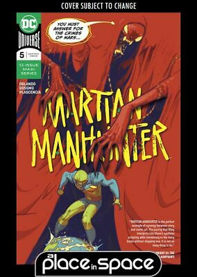 Martian Manhunter, Vol. 5 #5A (Wk21)