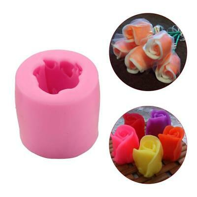 3D ROSE CAKE Flower Silicone Mold Chocolate Mould Craft Resin Clay