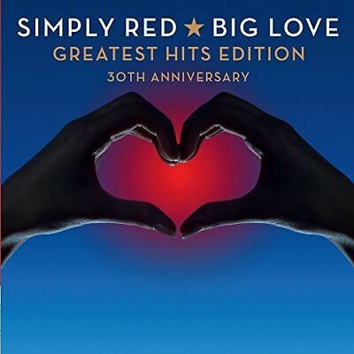 Simply Red Big Love Greatest Hits Edition Cd Album 2015 30Th Anniversary