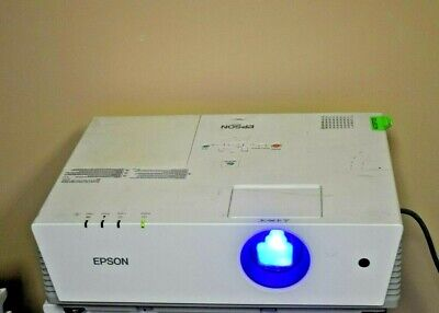 EPSON Powerlite 6100i Projector Tested for Power and Bulb/Cord NOT Included