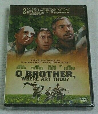New O Brother Where Art Thou? Dvd Widescreen Special Features Clooney Turturro