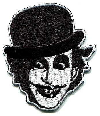 THE ADICTS joker face EMBROIDERED IRON-ON PATCH *Free Shipping* p1938 smart alex