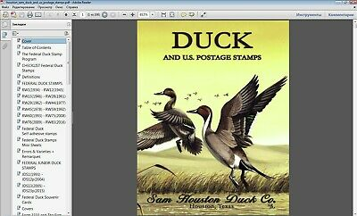 Rw Duck Stamps Catalogue Edition in P.D.F