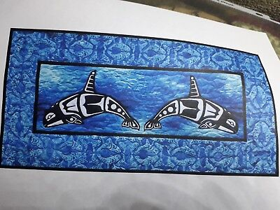 Orca Quilt Pattern By Lisa Moore Quilts With A Twist