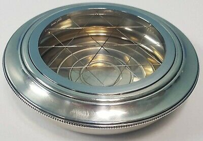 JH Sterling Silver Ash Tray from the 1930s