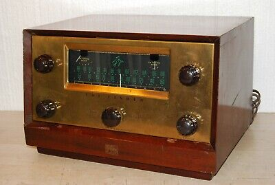 Vintage 1956 FISHER 80T Tube Tuner PreAmplifier - Excellent !!!