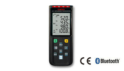 CENTER 521_ Wireless Four Channel Datalogger Thermometer (K/J/E/T Type