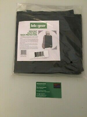 Car Seat Back Protectors by Lebogner - Luxury Kick Mat Seat Covers for The Back