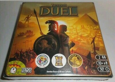 7 Wonders Duel Board Game-Complete CIB Brand New still sealed from factory