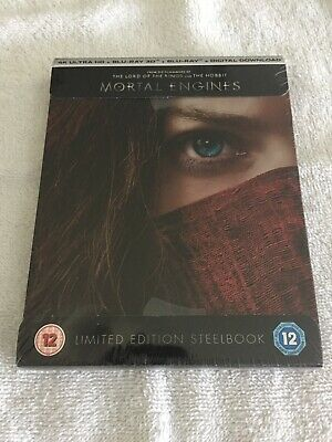 MORTAL ENGINES 4K + 3D + Blu-ray STEELBOOK [UK VERSION]