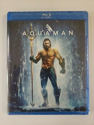 #NEW#  Aquaman (Blu Ray + DVD + Digital) 2019  ***FREE SHIPPING***