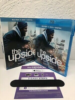 The Upside Blu Ray + Itunes Digital HD, (NO DVD INCLUDED) Please Read.