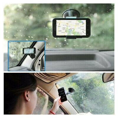 1Pc Universal 360° Rotating Car Phone Windshield Mount GPS Holder Accessories