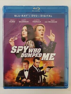 #NEW# The Spy Who Dumped Me (Blu-ray + DVD + Digital 2018 2-Disc)