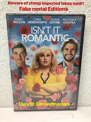 Isn't It Romantic 2019 Authentic DVD (beware of so called FAKE RENTAL Editions)