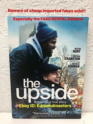 The Upside 2019  Authentic DVD Beware of Cheap Fakes sold as Rental Editions!