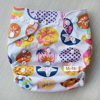 Baby Cloth Diaper  Washable Reusable Pocket Best Nappy diaper cover  h24