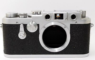 *RARE* EXC++* Showa Kogaku Leotax TV2 TVII Merit chrome camera body  From JAPAN
