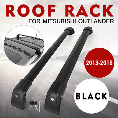 Roof Rack Cross Bar For Mitsubishi Outlander 2013-2019 Aluminum Storage Durable