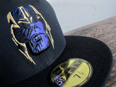 MARVEL x NEW ERA Thanos Infinity War 59FIFTY Fitted Cap 7 7/8 rare hat avengers