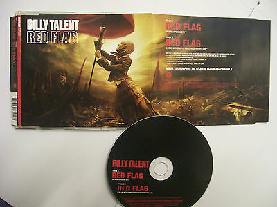 BILLY TALENT Red Flag  – 2006 EU CD – Punk, Alternative Rock – BARGAIN!