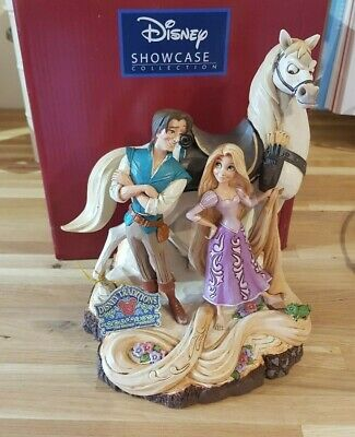 New Official Disney Traditions Tangled 'Live Your Dream' Figurine - Boxed