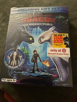 How to Train Your Dragon 3: The Hidden World (Blu-ray + DVD No Digital) W/ Wings