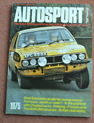 Autosport Annual 1975 - F1, Formula Ford, Rallying, inc Dolomite Sprint poster