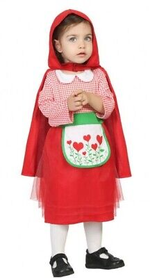 Baby Girls Little Red Riding Hood World Book Day Fancy Dress Costume Outfit