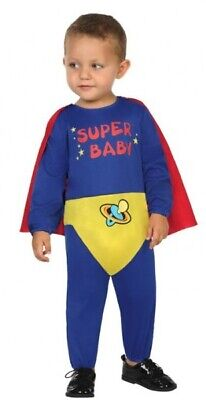 Baby Boys Girls Superbaby Superhero World Book Day Fancy Dress Costume Outfit