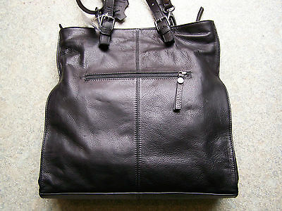 Think Bag from Soft Nappa Leather in Black Combi