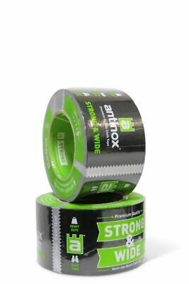 Antinox® STRONG  WIDE Jointing Tape 72mm x 50m Black DIY Dust Sheets 161665