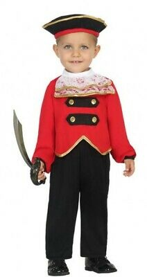 Italian Made Baby Toddler Boys Pirate Halloween Fancy Dress Costume Outfit 0-2ys