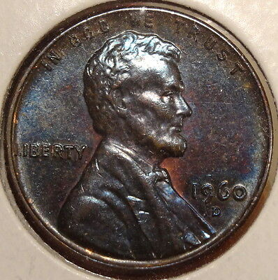 1960-D Small Date Lincoln Cent, Great Original Toning   0207-16