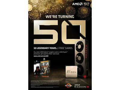 Division 2 Gold + World War Z! AMD 50th Anniversary Codes (2 Great Games!)