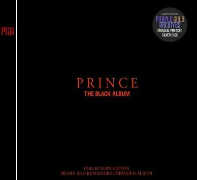 Prince The Black Album Remix And Remasters Collector's Edition New Press 2Cd F/S