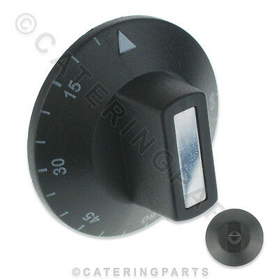 Kn101 Thermostat Knob Plastic Push On Dial 15-90 For Bain Marie Water Boiler Etc