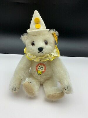 Steiff Tier 029400 Teddy Clown 20 cm. Top Zustand
