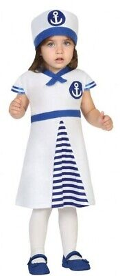 Baby Girls Sailor Carnival World Book Day Halloween Fancy Dress Costume Outfit