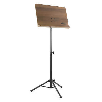 Wooden Conductor Sheet Music Stand - Adjustable - Foldable - Tripod Base