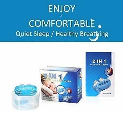 Anti Snoring Solution Air Purifier Filter Snore Stopper Comfortable Sleep Aid