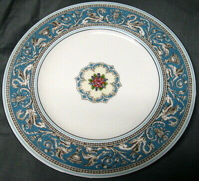 Wedgwood Florentine Turquoise W2714 Luncheon Plate
