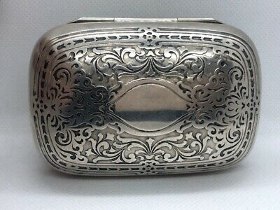 Tiffany & Co. Vintage Sterling Silver Travel Soap Dish (UD9001661)