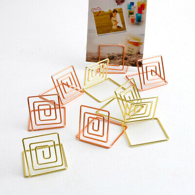 Table Name Number Holders Paper Menu Picture Memo Note Photo Clip Holder Food Signs For Wire Shape Place Card Holder Stands