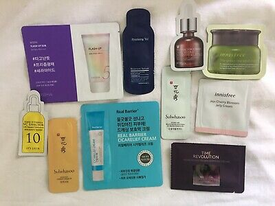 Korean Skincare Samples (10 Total) US Seller