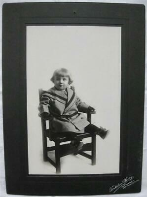 c.1900 BABY n ARTS & CRAFTS Stickley CHAIR CABINET PHOTOGRAPH Terkelson & Henry