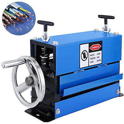 Manual Wire Stripping Machine 40mm 10 blades Peeling Recycle Copper NEWEST