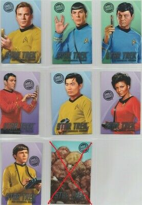Dave and Busters Star Trek Standard 3 Cards