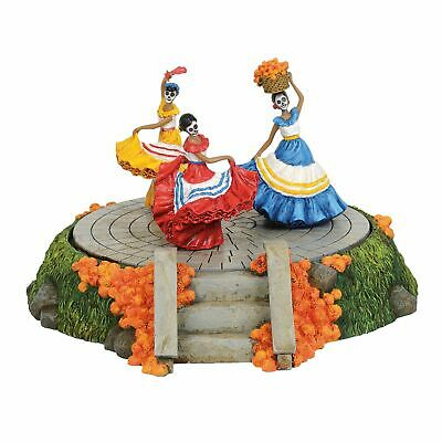 Department 56 Halloween Village  Day Of The Dead Sign Accessory Figurine 6003230
